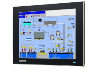 Industrie Monitore 12 Zoll: optional mit resistivem Touchscreen