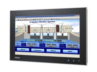 Industrie-PC: Touch Panel-PC, lüfterlos mit Touchscreen