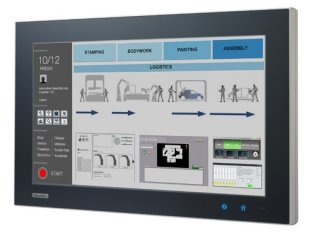 Touch Panel PC lüfterlos: 18,5 Zoll