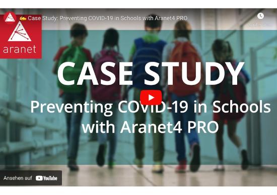 COVID-19 Prävention in Schulen mit Aranet4 PRO