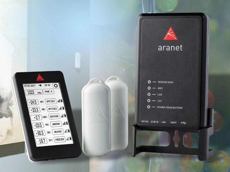 Aranet: Umweltmonitoring mit Funkdatenloggern
