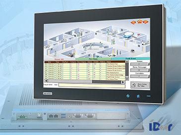 Mehr Breite: Advantech mit neuen WideScreen-TPCs