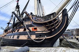 Datenlogger unterstützen empfindliche Artefakte auf der HMS Victory, dem historischen Flaggschiff Admiral Nelson zu konservieren
