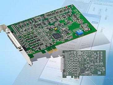 PCIE-1810 und PCIE-1816: Messkarten für den PCI-Express-Slot