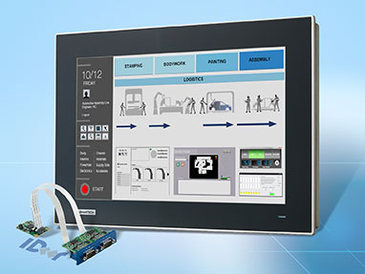 TPC-1551T: Preiswerter lüfterloser Touch-PC