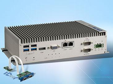 UNO-2483: Lüfterloser Industrie-PC mit iDoor-Interface