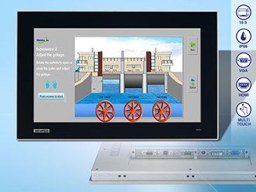 Advantech FPM-7151: Kratzfestes MultiTouch-Display für Industrie und Kundenverkehr