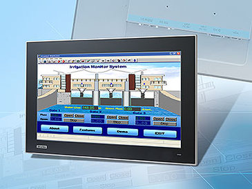 Advantech: Neue Industriemonitore mit kapazitivem MultiTouch