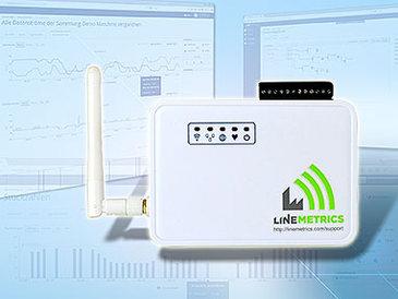 Im Vertrieb: LineMetrics überwacht Produktionsdaten online