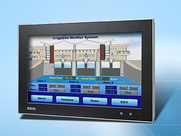 WideScreen Multitouch PC: Advantech TPC-1840WP
