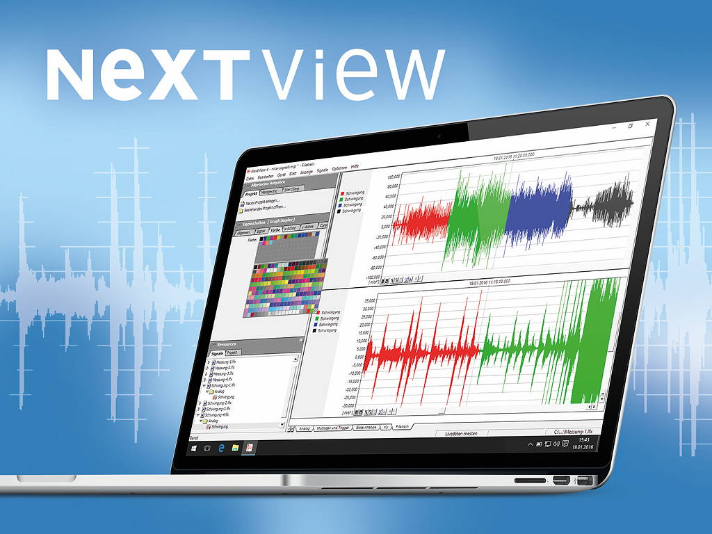 Neue Mess-Software NextView 5