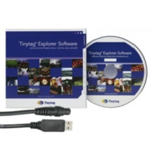 SWPK-7-USB-INT Tinytag Explorer Software für TinyView Logger