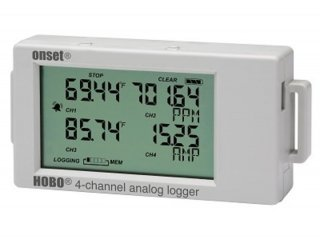 UX120-006M: 4-Kanal Analog-Datenlogger mit LCD Display
